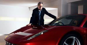 Clapton's Ferrari
